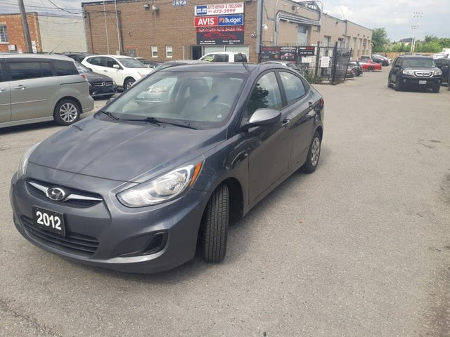 2012 Hyundai Accent GLS Sedan FWD