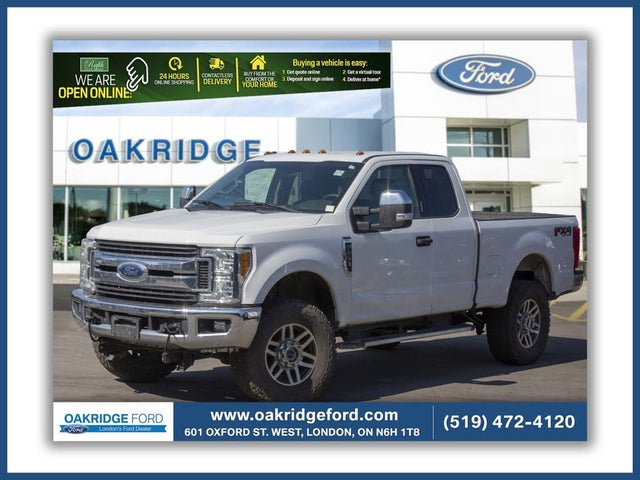 2017 Ford F-250 Super Duty XLT SuperCab 4WD