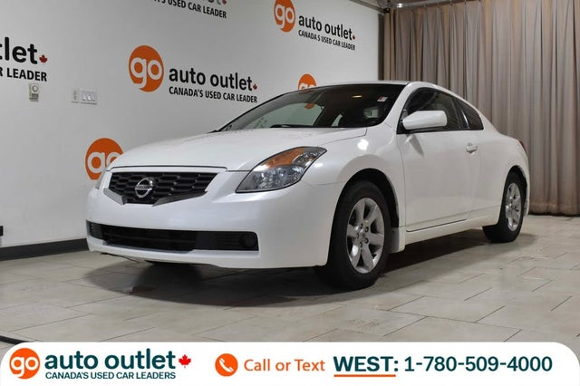 2008 Nissan Altima Coupe 2.5 S