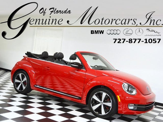 2013 Volkswagen Beetle Turbo Convertible with Sound and Navigation