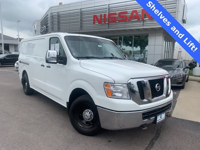 2015 Nissan NV Cargo 2500 HD SL with High Roof V8