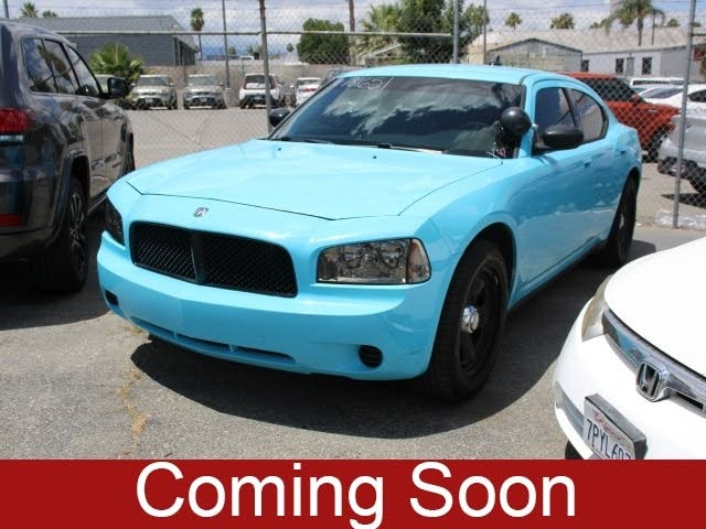 2010 Dodge Charger Police RWD