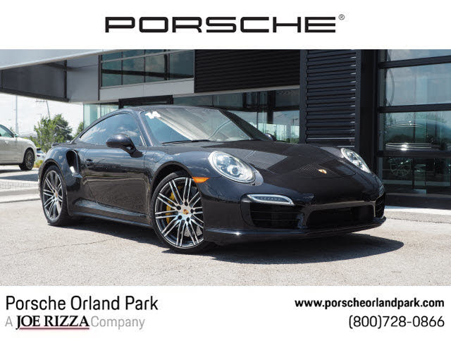 2014 Porsche 911 Turbo S Coupe AWD