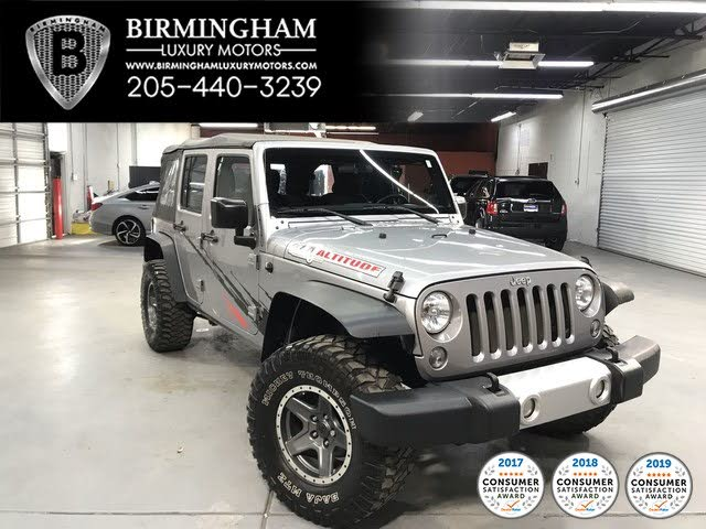 Used Jeep Wrangler Unlimited For Sale In Birmingham Al Cargurus
