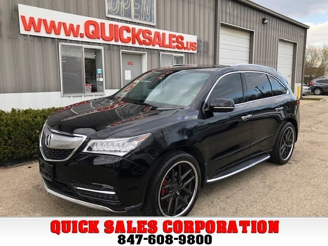 2014 Acura MDX SH-AWD with Advance and Entertainment Package