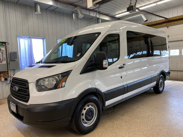 2016 Ford Transit Passenger 350 XLT Medium Roof LWB RWD with Sliding Passenger-Side Door