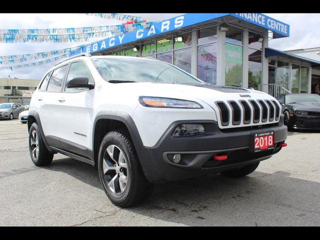 2018 Jeep Cherokee Trailhawk L Plus 4WD