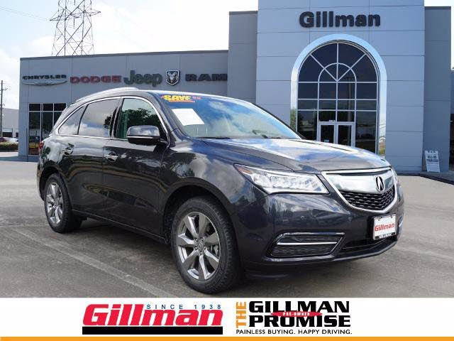 2016 Acura MDX FWD with Advance and Entertainment Package