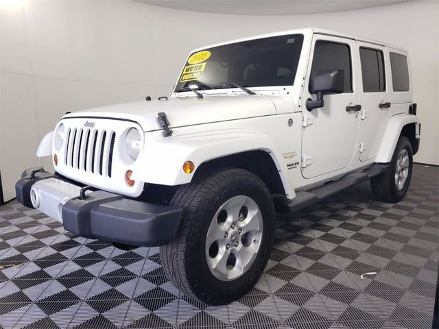 2012 Jeep Wrangler Unlimited Sahara 4WD