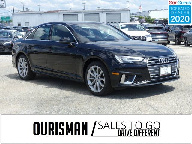 2019 Audi A4 2.0T quattro Premium Plus Sedan AWD