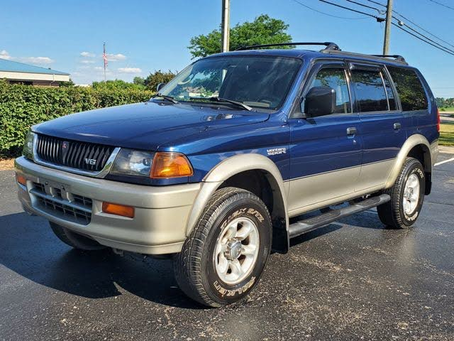used 1999 mitsubishi montero sport 4 dr xls 4wd suv for sale right now cargurus 4 dr xls 4wd suv