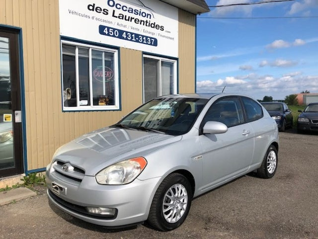 2008 Hyundai Accent GL Sport 2-Door Hatchback FWD