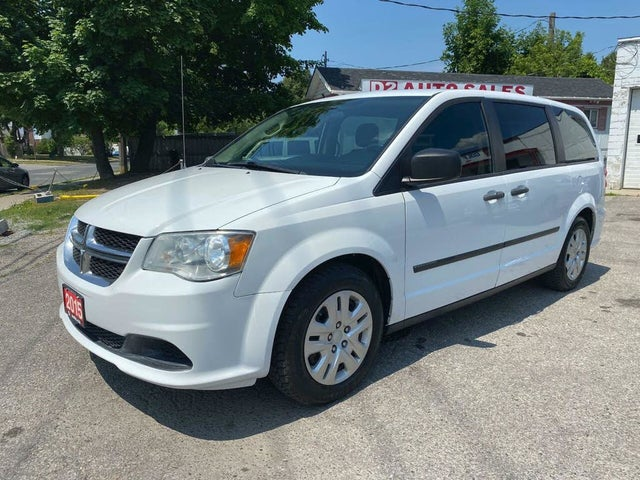 2015 Dodge Grand Caravan Canada Value Package FWD