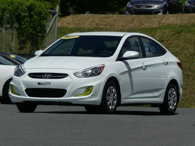 2016 Hyundai Accent L Sedan FWD