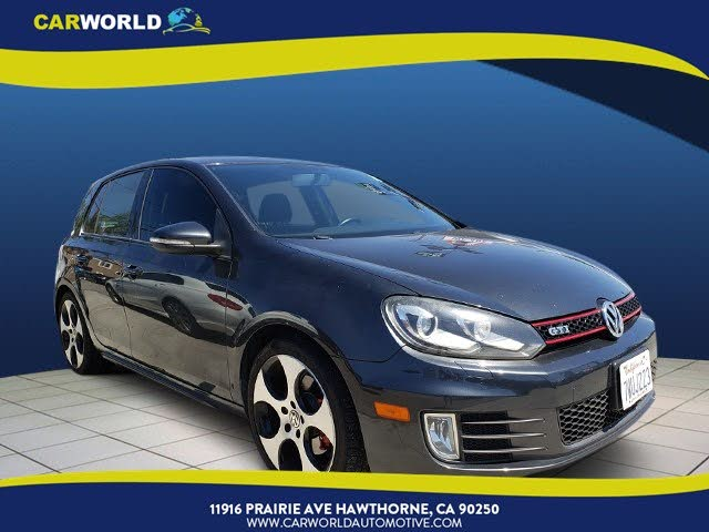 2011 Volkswagen GTI 2.0T 4-Door FWD with Sunroof and Navigation