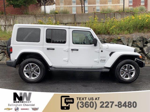 Used 2020 Jeep Wrangler Unlimited Sahara 4wd For Sale With Photos