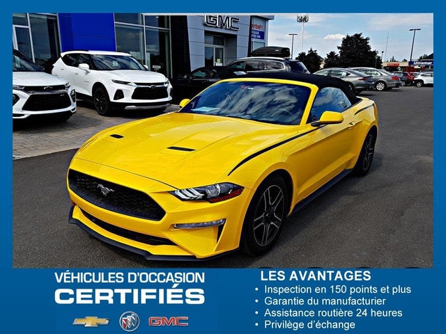 2018 Ford Mustang EcoBoost Convertible RWD