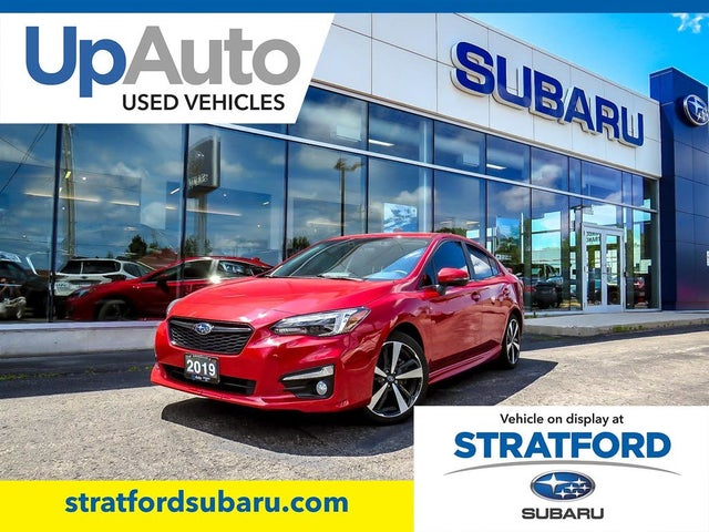 2019 Subaru Impreza 2.0i Sport-tech Sedan AWD with EyeSight Package