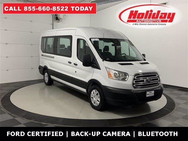 2019 Ford Transit Passenger 150 XLT Low Roof RWD with Sliding Passenger-Side Door