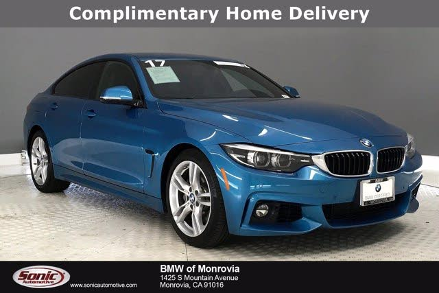 2018 BMW 4 Series 430i Gran Coupe RWD