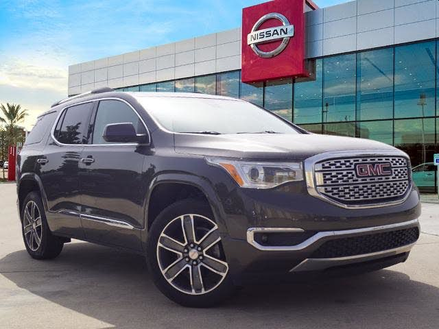 Used 2019 Gmc Acadia Denali Fwd For Sale With Photos Cargurus