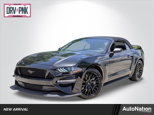 2018 Ford Mustang GT Premium Convertible RWD
