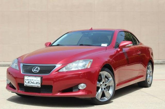 2010 Lexus IS 350C Convertible RWD