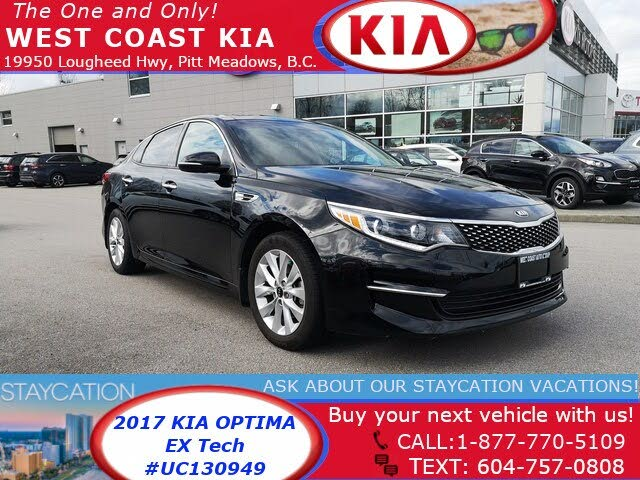 2017 Kia Optima EX Tech