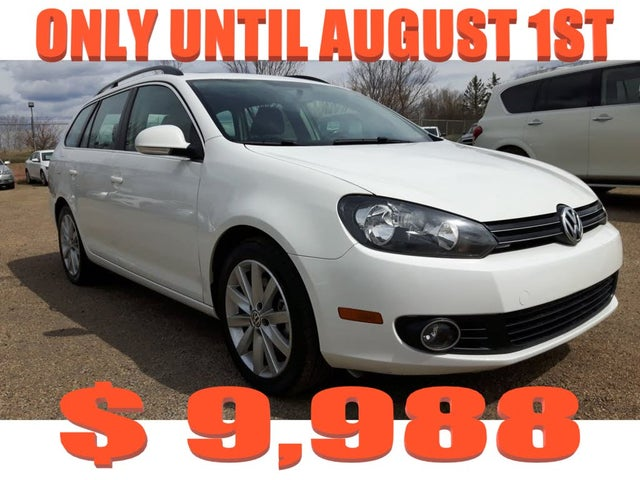 2012 Volkswagen Golf Wagon TDI Highline