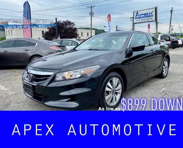 2011 Honda Accord Coupe EX-L with Nav