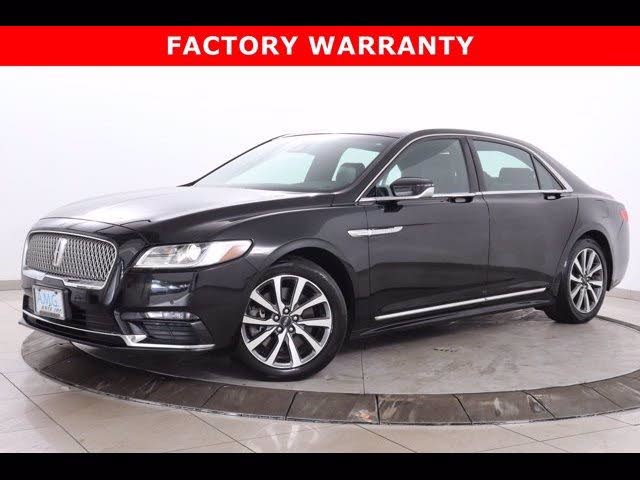 2018 Lincoln Continental Premiere Livery AWD