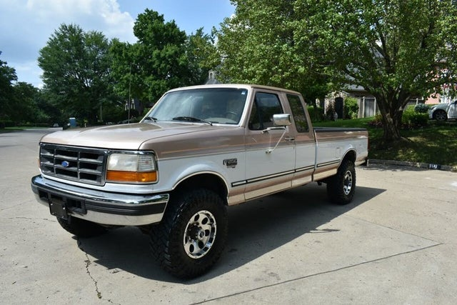 1996 Ford F-250 2 Dr XLT 4WD Extended Cab LB HD