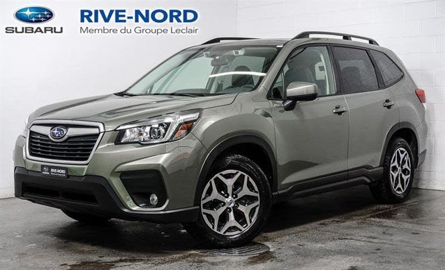 2020 Subaru Forester 2.5i Touring AWD with EyeSight Package