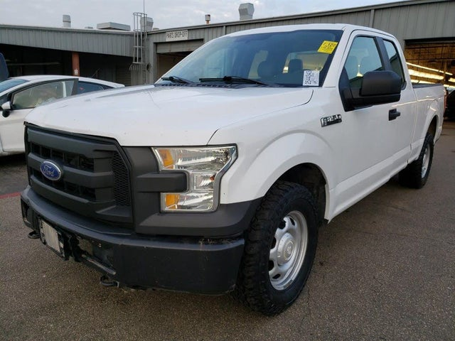 2015 Ford F-150 XL SuperCab 4WD