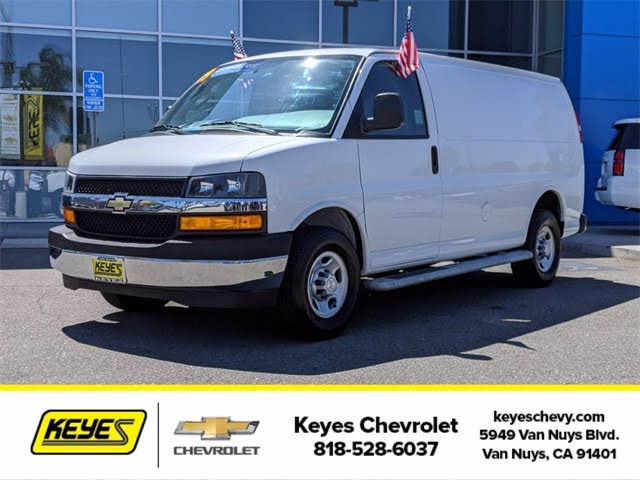 Used Chevrolet Express Cargo For Sale In Los Angeles Ca Cargurus