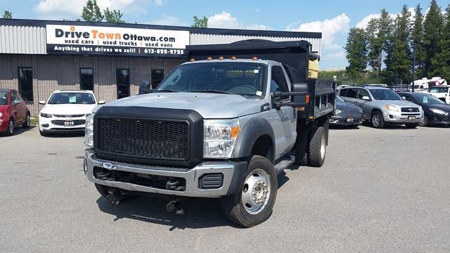 2013 Ford F-550 Super Duty Chassis Crew Cab DRW 4WD