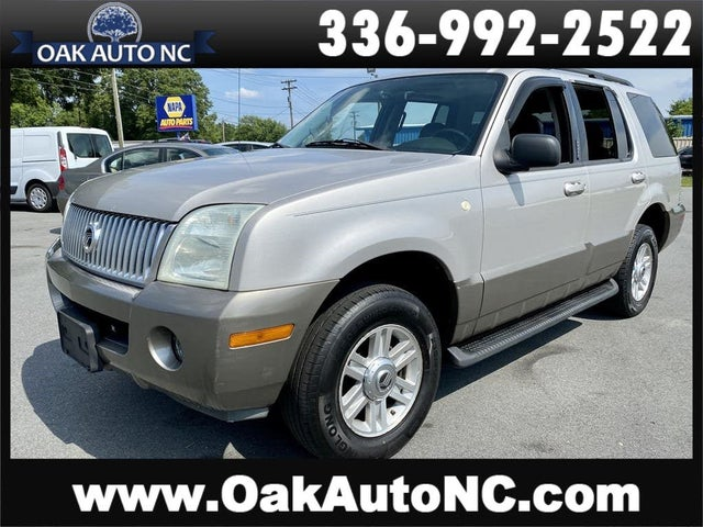 2004 Mercury Mountaineer Luxury AWD