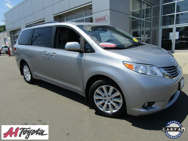 2017 Toyota Sienna Limited 7-Passenger AWD