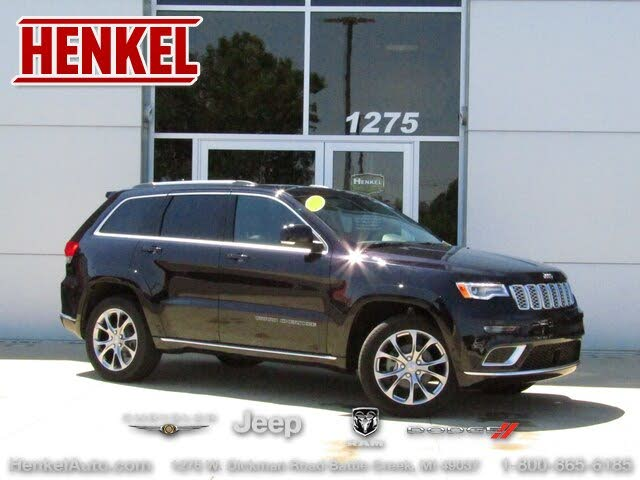 Used 2019 Jeep Grand Cherokee Summit 4wd For Sale With Photos