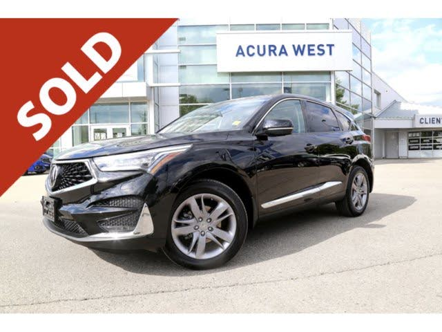 2020 Acura RDX SH-AWD with Platinum Elite Package