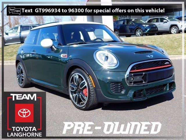 2016 MINI Cooper John Cooper Works 2-Door Hatchback FWD