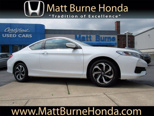 2017 Honda Accord Coupe LX-S with Honda Sensing