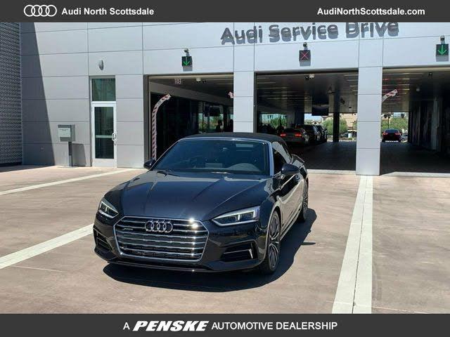 2018 Audi A5 2.0T quattro Premium Plus Cabriolet AWD