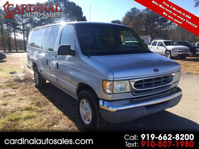 2002 Ford E-Series E-350 Super Duty XL Extended Passenger Van