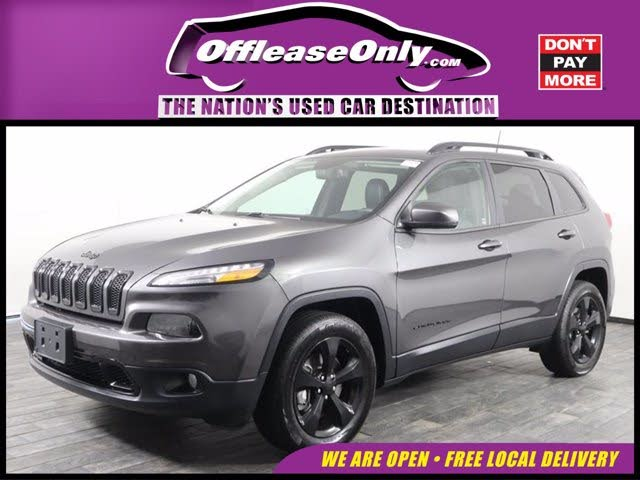 2017 Jeep Cherokee High Altitude 4WD