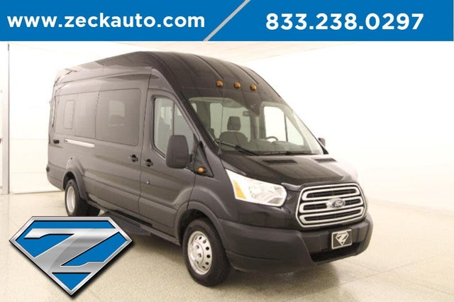 2019 Ford Transit Passenger 350 HD XLT Extended High Roof LWB DRW RWD with Sliding Passenger-Side Door