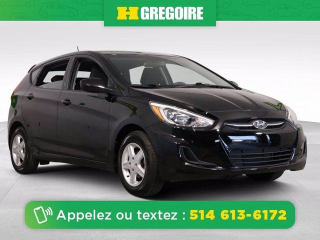 2016 Hyundai Accent L 4-Door Hatchback FWD