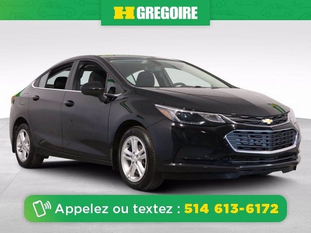 2017 Chevrolet Cruze LT Sedan FWD