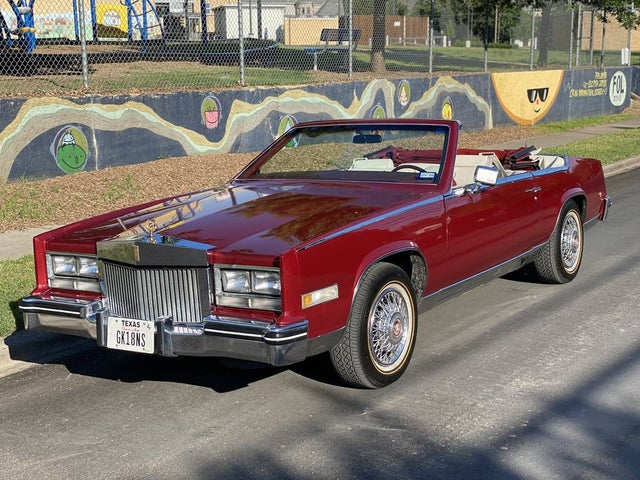 used 1985 cadillac eldorado biarritiz convertible fwd for sale right now cargurus biarritiz convertible fwd