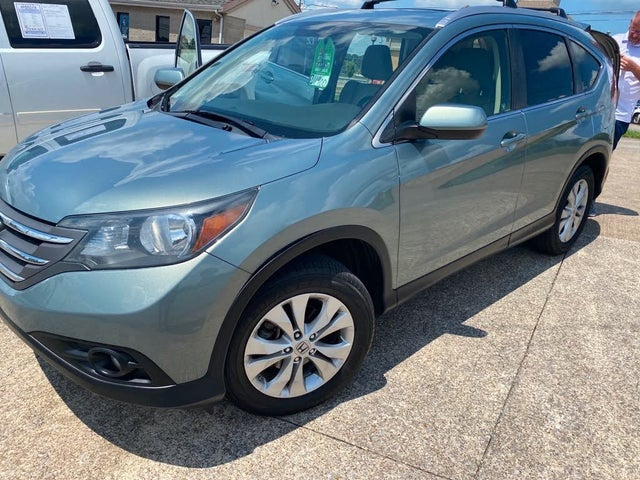 2012 Honda CR-V EX-L AWD with DVD